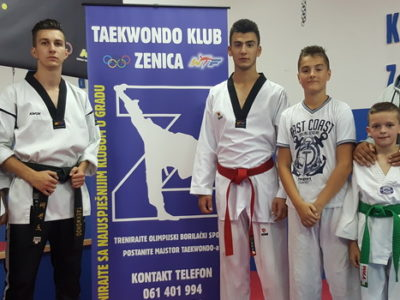 Takmičari Tekvando kluba Zenica na Korčula Open