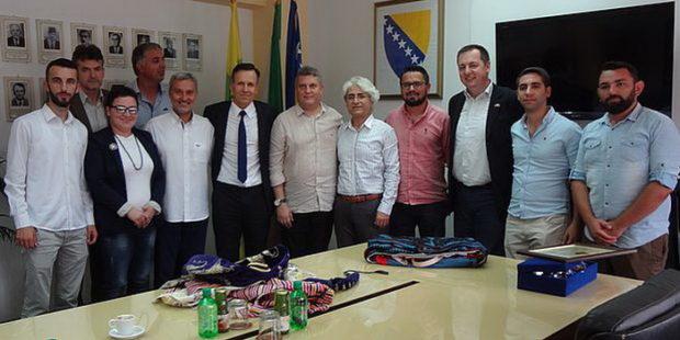 Delegacija Karšijake u Zenici