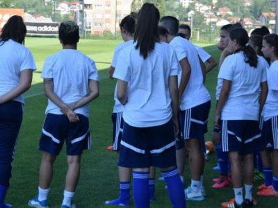 Danas u Zenici okupljanje bh. nogometnih reprezentativki