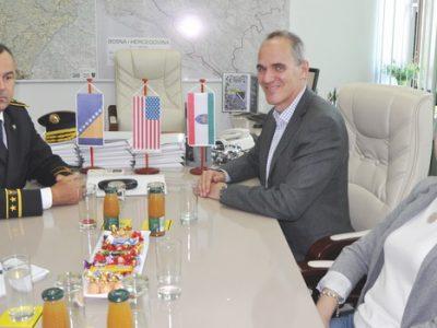 Zamjenik šefa Misije u Ambasadi SAD-a u posjeti MUP-u ZDK