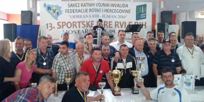 Savez RVI ZDK pobjednik Sportskih igara