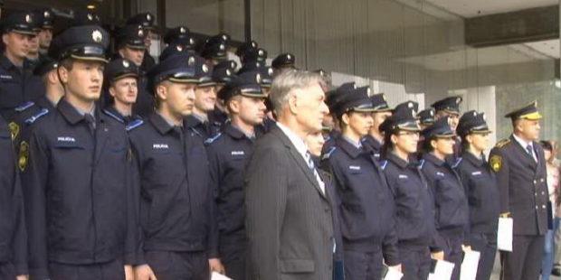 Svečana zakletva novih policajaca