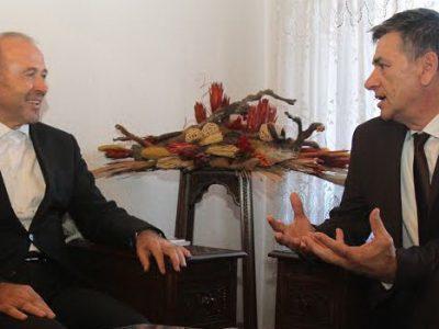 Fuad Kasumović razgovarao sa muftijom Dautovićem