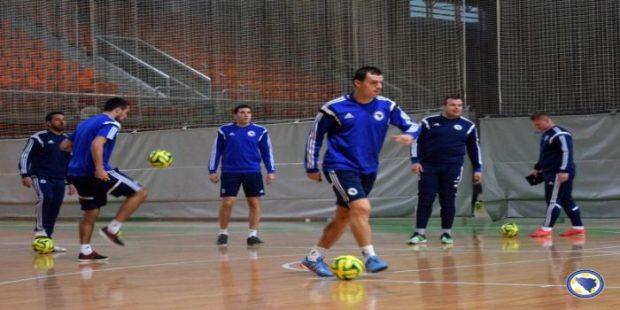 Futsal selekcija BIH igra sa Makedonijom
