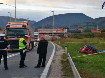 Na Blatuškoj petlji poginula jedna osoba