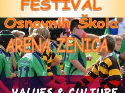 U Areni ragbi festival za mališane