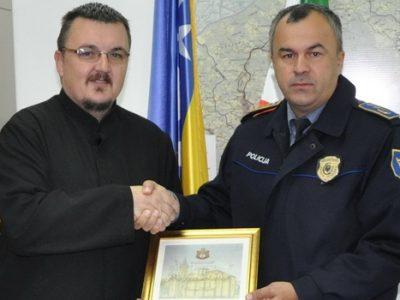 Policijski komesar ugostio sveštenika SPC Zenica