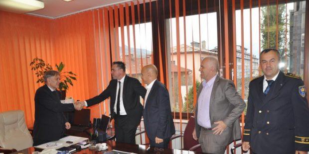 Ugovor za izgradnju poslovnog objekta MUP-a ZDK