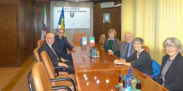 ZDK-Posjeta delegacije iz Torina