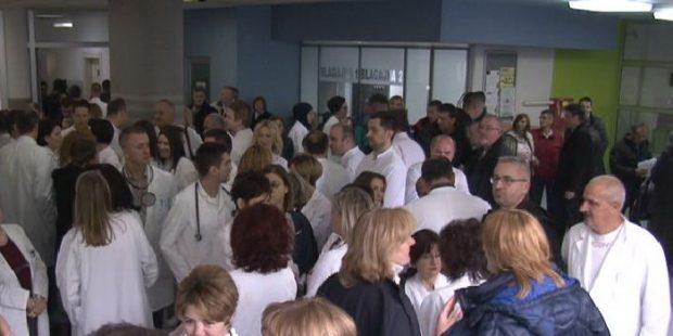 U štrajku upozorenja iskazano nezadovoljstvo ljekara