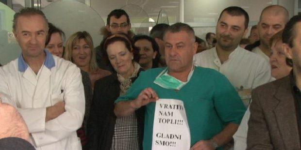Štrajk upozorenja u Kantonalnoj bolnici Zenica