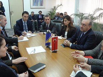 Ambasador Turske u BiH u Gradskoj upravi Zenica