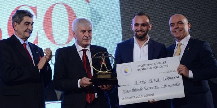 Amel Tuka najbolji sportista BiH