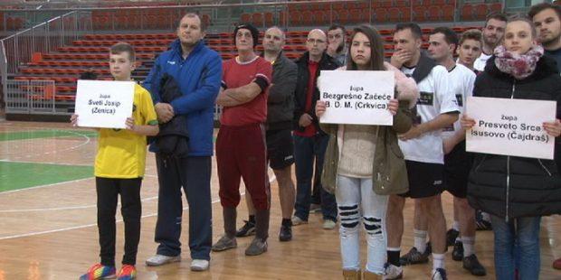 Župa Čajdraš pobjednik Božićnog turnira