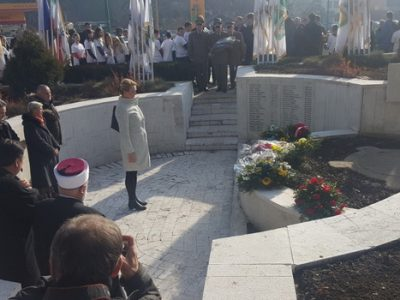 Predsjedavajuća Subašić na obilježavanju Dana 3. korpusa