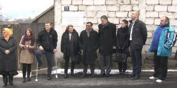 Obnovljena Lisačka ulica u Tetovu