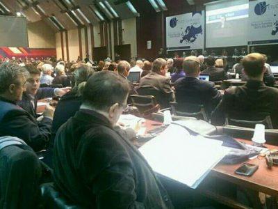 Delegacija Sindikata obrazovanja na skupu u Beogradu