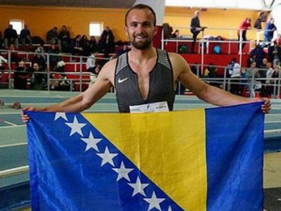 Tuka prvi u Padovi,državni rekord na 400 metara