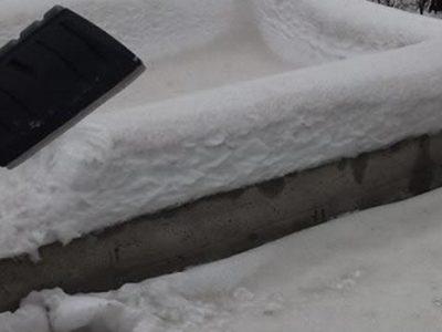 Obaveza čišćenja snijega i leda