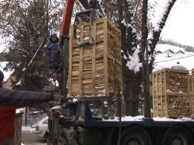 Kompanija Telemach donira drva za ogrev