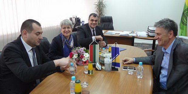 Bugarska ambasadorica kod gradonačelnika Kasumovića