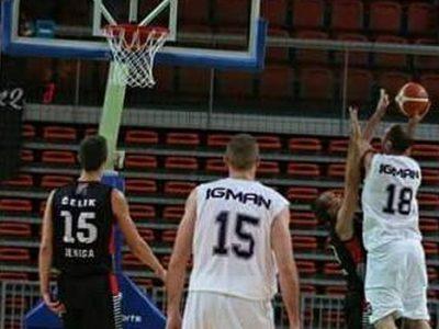 Košarkaši Čelika poraženi od Igmana