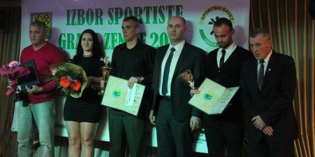 Bilić i Tuka sportisti Zenice za 2016. godinu