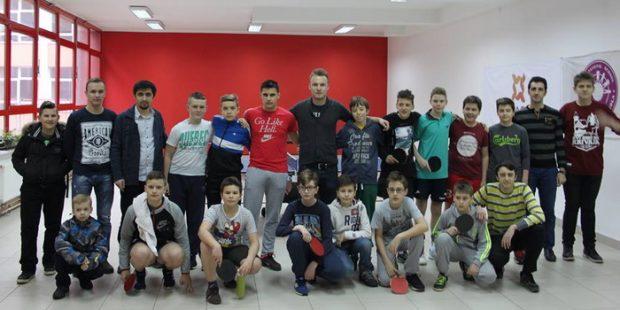 Rezultati takmičenja učenika u stonom tenisu