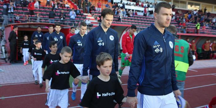 Džeko i Lulić za pobjedu protiv Albanije