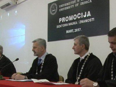 Na UNZE promovisano 9 doktora nauka