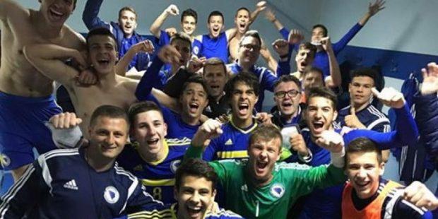 BH nogometni kadeti se plasirali na EP