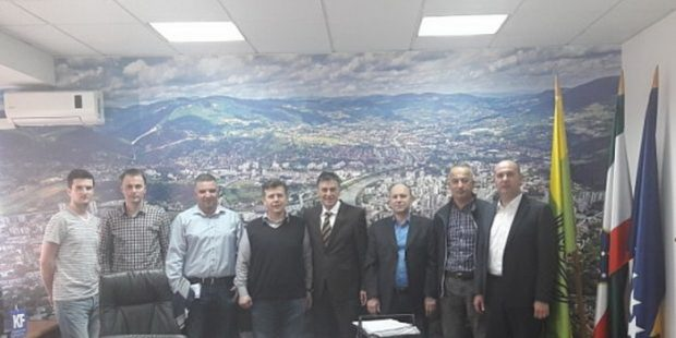 Uprava NK Čelik posjetila Gradonačelnika Zenice