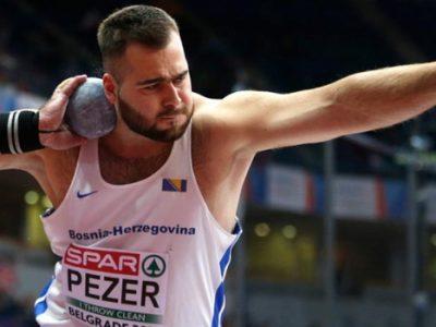 Pezer osmi na Međunarodnom atletskom mitingu u Zagrebu