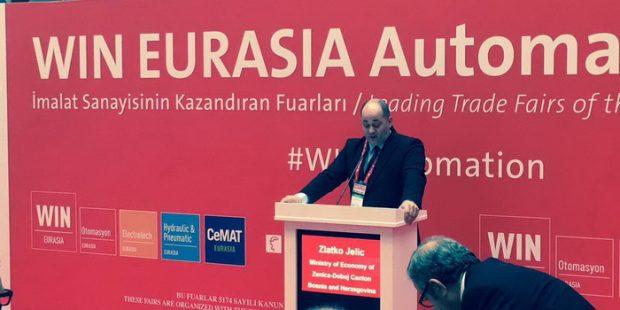 Ministar Jelić na sajmu automatizacije u Turskoj