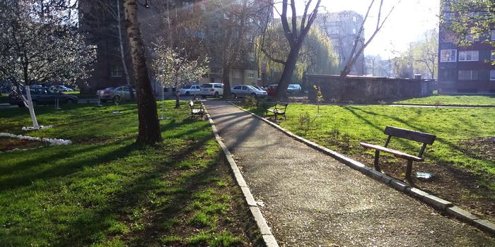 Uređen mini park ispod Uglovnice