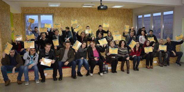 Diplome za polaznike kursa iz programiranja