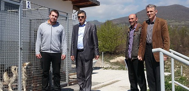 Gradonačelnik obišao Azil za napuštene životinje