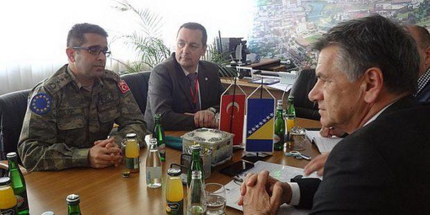 Komandant Turske vojne misije posjetio Gradsku upravu