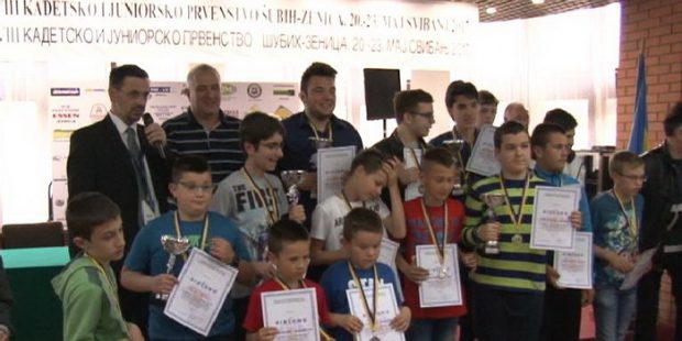 Uspjeh mladih zeničkih šahovskih nada