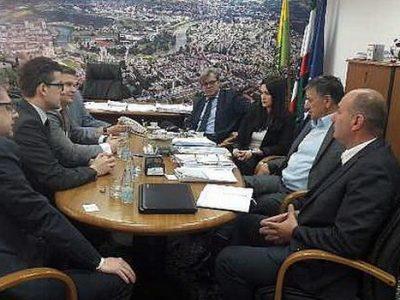 Predstavnici kompanije Alba kod gradonačelnika