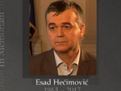 Sutra dženaza i ukop Esada Hećimovića