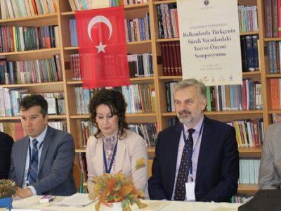 Simpozij o značaju i mjestu turskog jezika u periodici na Balkanu