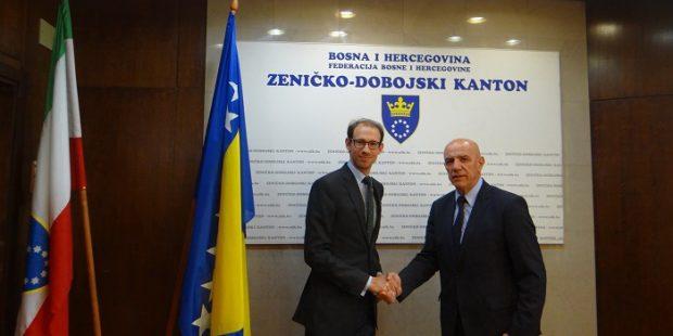 Trgovinski savjetnik Austrijske ambasade posjetio ZDK