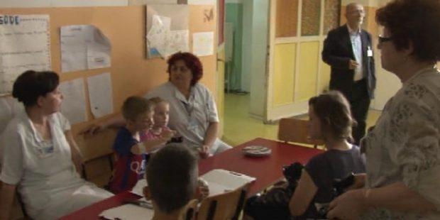 Paketići za djecu na liječenju u Kantonalnoj bolnici