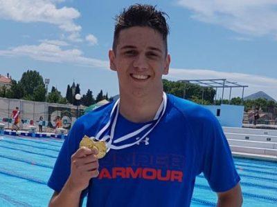 Amar Borić osvojio tri zlatne medalje u Trebinju