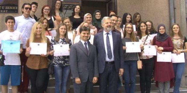 Ambasador Italije u posjeti Univerzitetu u Zenici