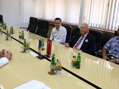 U Zenici boravio počasni konzul BiH u Turskoj, Ahmet Kemal Baysak