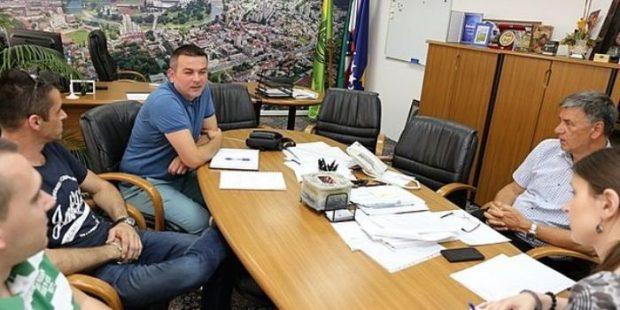 Gradonačelnik primio predstavnike zeničkog rukometa