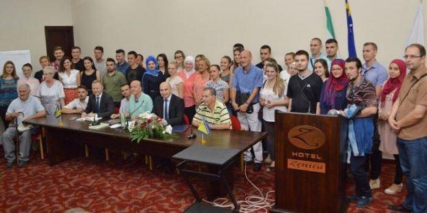 SDA Zenica: 155 novih članova