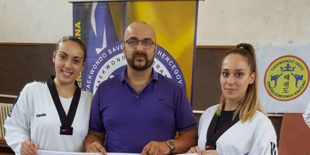Taekwondo Savez ZDK: Polaganje za crne pojaseve